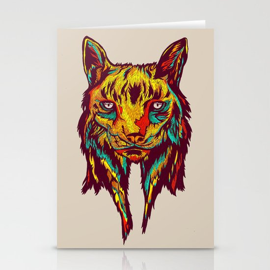 BE RARE* - Iberic Lince Stationery Card