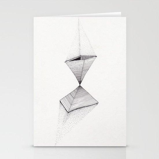 sand pyramids Stationery Card