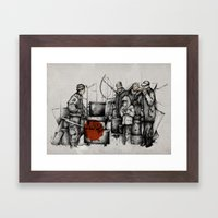 Boiler Framed Art Print