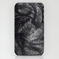iPhone 3Gs & iPhone 3G Cases featuring furry swirl by Matthias Hennig