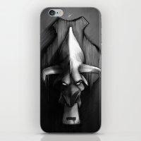 Easy Meat Print iPhone & iPod Skin