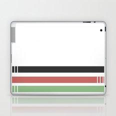 drei einsame streifen Laptop & iPad Skin