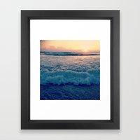 Favorite Sunrise  Framed Art Print