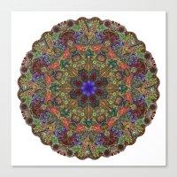 Hallucination Mandala 1 Canvas Print