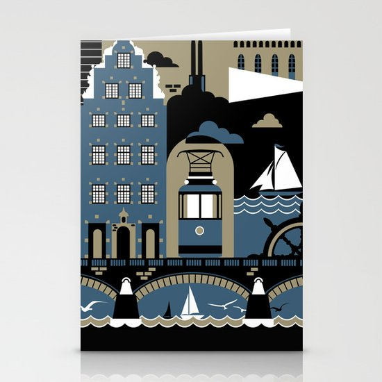 Stockholm Stationery Card