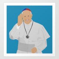 Pope Francis - San Loren… Art Print