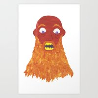 There Was An Old Man Wit… Art Print