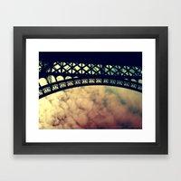 Below Framed Art Print