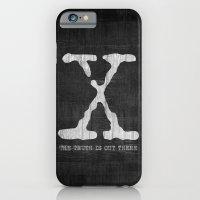 X-Files Poster iPhone 6 Slim Case