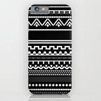 Graphic_Black&White #6 iPhone 6 Slim Case