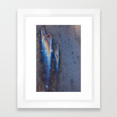 oxidized nebula Framed Art Print