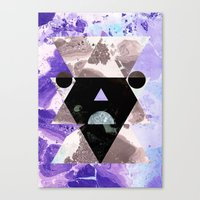 Faces of the universe Canvas Print