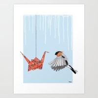 Birds #1 Art Print