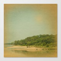 Wherever Your Island Is Canvas Print