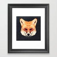 Island Fox Framed Art Print