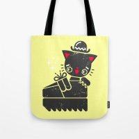 Cat In Platform Shoe Tote Bag