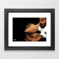 Thugs Get Lonely Too Framed Art Print