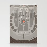 Star Trek NX - 01 Refit Stationery Cards
