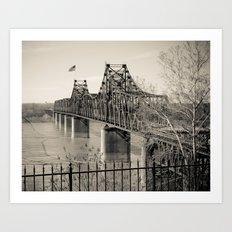 Welcome to Vicksburg 3 Art Print