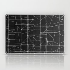 Graphic White Lines With… Laptop & iPad Skin
