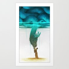 Break Through Art Print