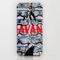 iPhone & iPod Case featuring HAVANA BEFORE CASTRO by RIGOLEONART