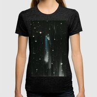 Sueños Womens Fitted Tee Tri-Black SMALL