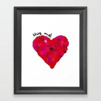 Hug Me! Framed Art Print