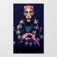 Spider Gift Canvas Print