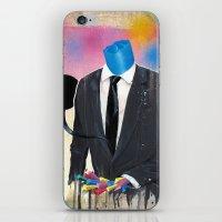 Plasticine Man In A Suit… iPhone & iPod Skin