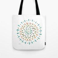 Watercolor Abstract Circ… Tote Bag