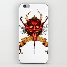 Krampus is Coming iPhone & iPod Skin