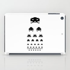 Gamers eye test iPad Case