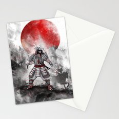 Banzai [The warrior on the hill] II Stationery Cards