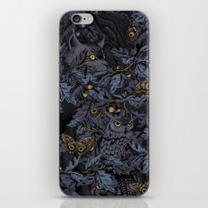 Fit In (moonlit blue) iPhone & iPod Skin