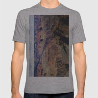 The Grand Canyon South Rim Mens Fitted Tee Athletic Grey SMALL