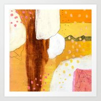 Goldish Art Print