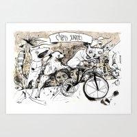 Chens Savants Art Print