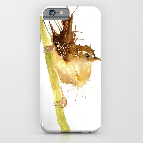 Mrs Wren iPhone & iPod Case