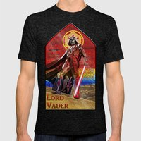 STAR WARS Stained Glass … Mens Fitted Tee Tri-Black SMALL