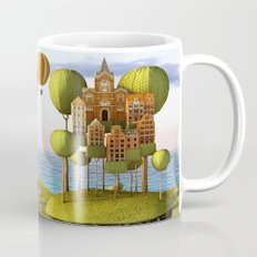 City in the Sky_Lanscape Format Mug