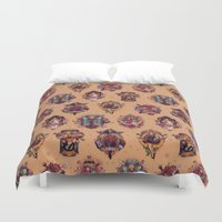 All Those Bright And Shi… Duvet Cover