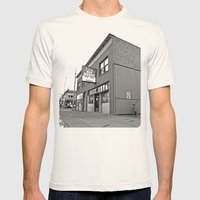 Neighborhood pub Mens Fitted Tee Natural SMALL