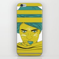 She's Always Watching  iPhone & iPod Skin