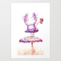 In The Land Of Magic Mus… Art Print