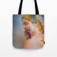 She Was The Apple Of His… Tote Bag