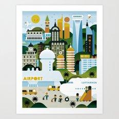 GOOD TRIPS Art Print