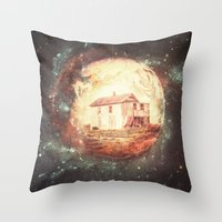 An Untidy House Throw Pillow