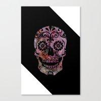 Rachel's Skull Canvas Print