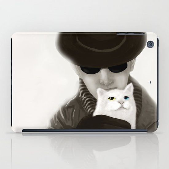 Cat and Alien iPad Case